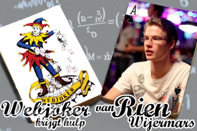 Webjoker krijgt hulp van Rien Wijermars: een donkbettende Sorel Mizzi