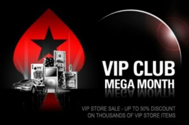 Mes Mega VIP de PokerStars