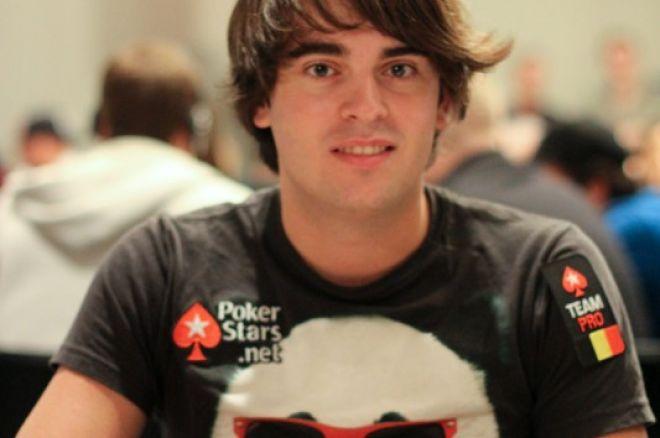 PokerStars.com EPT Barcelona: Matthias De Meulder bovenaan