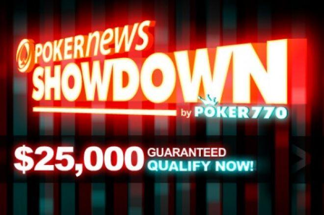 PokerNews Atskleidimas: $7,70 su atsipirkimais, o garantuota - $25,000! 0001