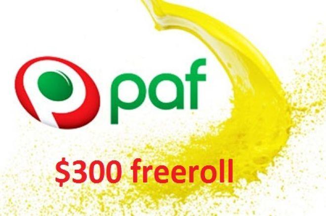 $300 freeroll