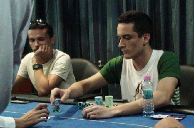 ФМС 2 покер Ден 2 - Митко Блажев чиплидер на финалната маса 0001