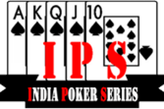 India Poker Series starts tomorrow 0001