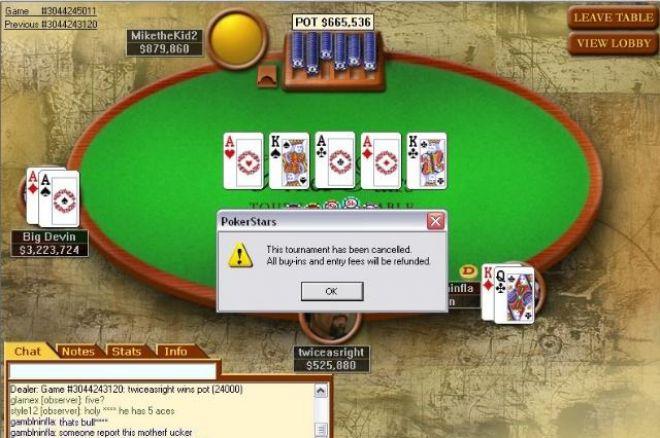 Ar internetinio pokerio kambariai  sukčiauja? 0001