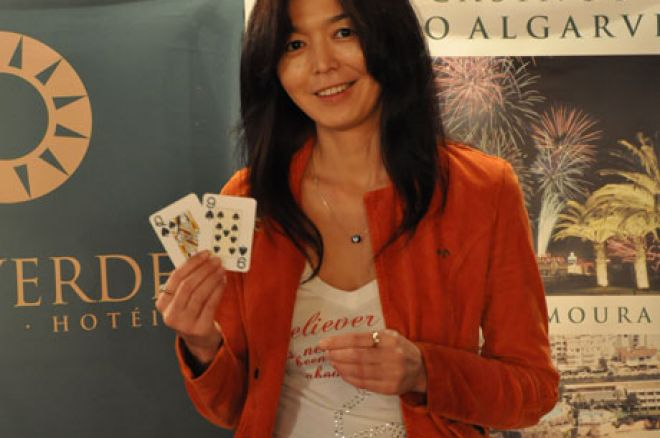 Gulbanu Sapabekova Vence PokerStars Solverde Poker Season #8 0001