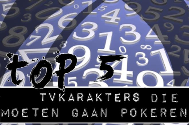 De PokerNews TOP 5: Televisiekarakters die zouden moeten gaan pokeren