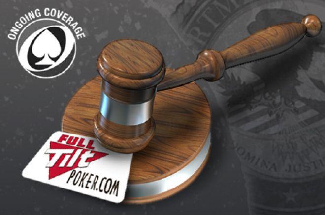 Full Tilt Poker pranešimas ir informacija dėl uždaro svarstymo 0001