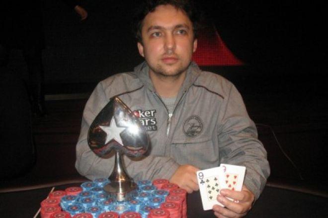 Oleg Prokhorov vence PokerStars.net Russian Poker Series de Kiev 0001
