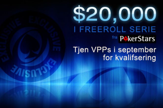 PokerStars $20.000 freeroll serie - Siste frist for kvalik 0001