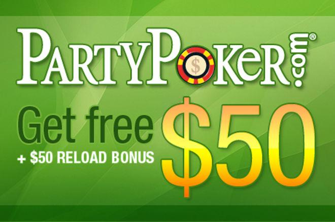 PartyPoker No Deposit Bonus