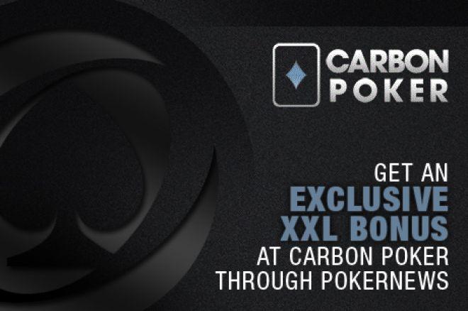 Get an Exclusive XXL Bonus at Carbon Poker Through PokerNews 0001