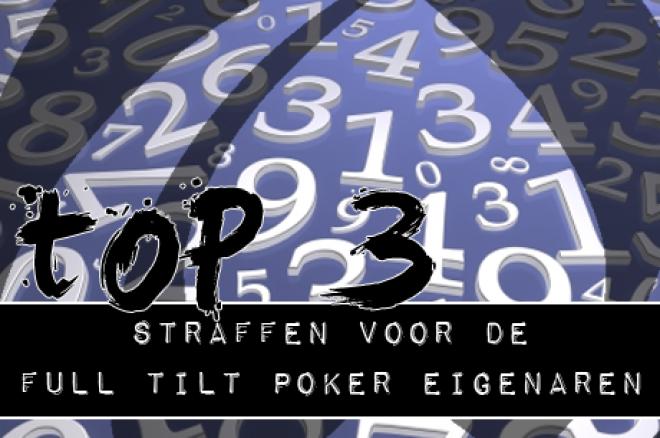 De PokerNews TOP 3: Straffen voor de Full Tilt Poker eigenaren