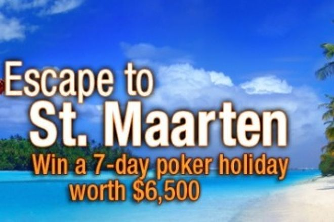 Take a trip to St. Maarten with Everest Poker 0001