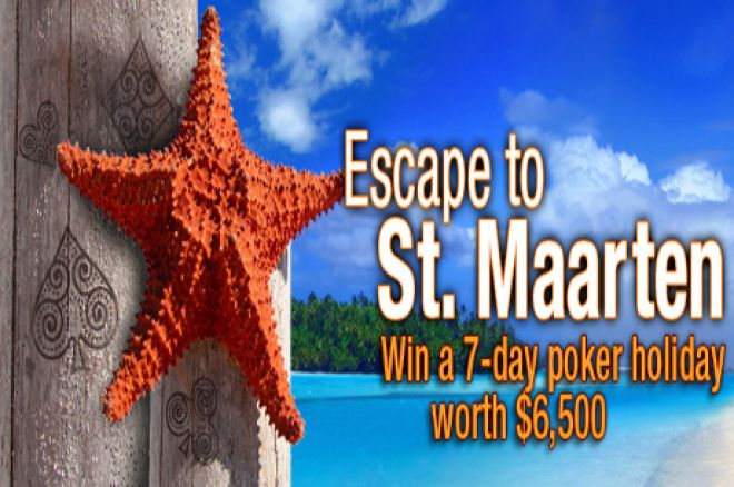 Take a trip to St Maarten with Everest Poker 0001