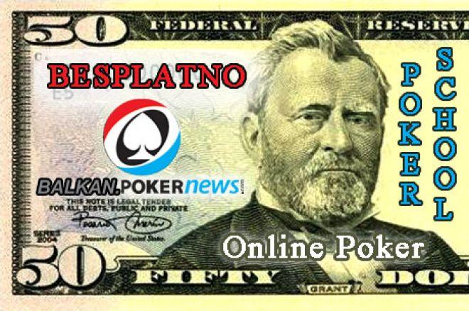 Preuzmite besplatno pravih $50 za Online Poker i naučite! 0001