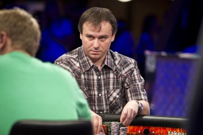 Aquecimento para as  World Series Of Poker November Nine 2011: Martin Staszko 0001