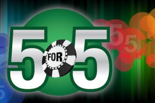 """Візьми участь у новій акції """"5 за 5"""" на Everest poker 0001"""