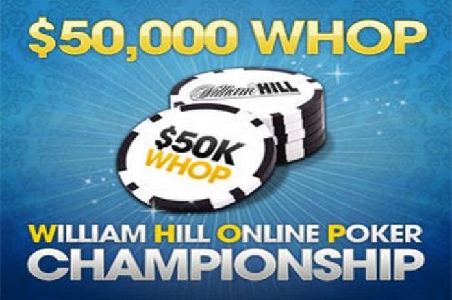 Tapkite pirmuoju William Hill internetinio pokerio čempionu 0001