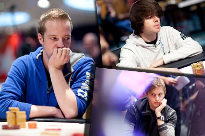 PokerStars.com EPT Londen: Swart wordt 18e, Spindler chipleader