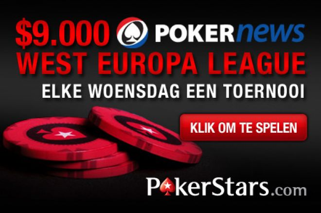 Speel mee in de $9.000 PokerNews Western European League!