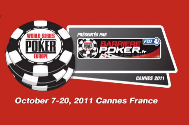 WSOPE Cannes 2011
