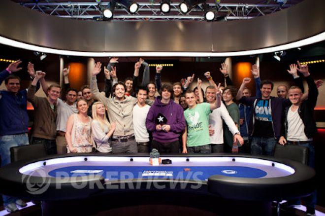 European Poker Tour London: Бені Спіндлер святкує перемогу 0001