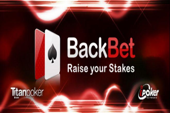 Titan Poker BackBet Tables