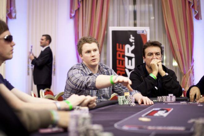 WSOP-E Dag 1a av øvelse #2- €1 090 NLH: Hinrichsen leder 0001