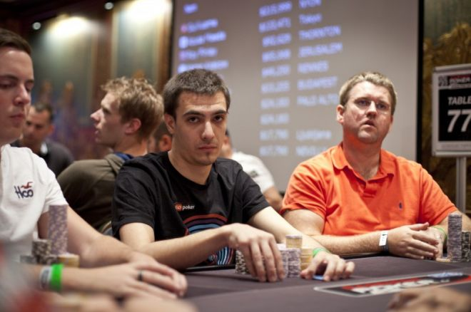 Dan 2 na #2 Eventu: €1,090 No-Limit Hold'em, Gianluca Speranza čip lider 0001