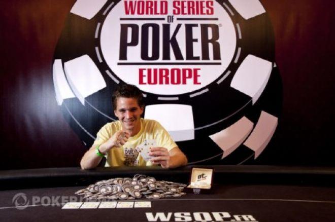 2011 WSOPE Event #1 trešā diena, Hamberts uzvar, jauns WSOPE rekords 0001