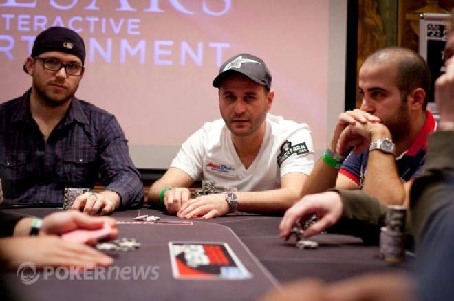 Romanello and Eames Reach WSOPE Final Table 0001