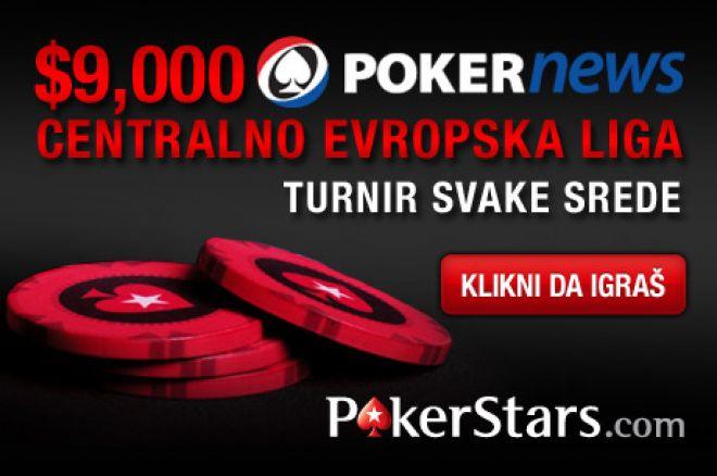 Počela je $9,000 Centralno Evropska Liga na PokerStars-u 0001