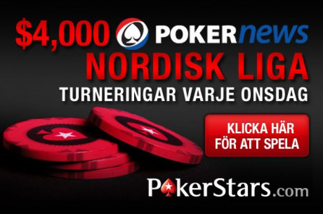 PokerNews $4000 Nordiska Pokerliga hos PokerStars