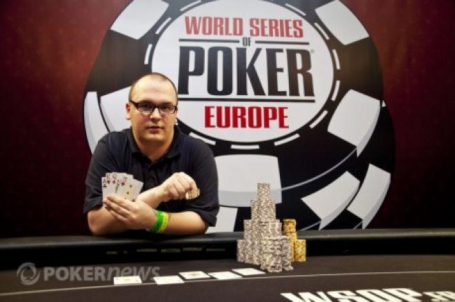 2011 WSOPE Event # 3: Успенський шостий, Event # 4: залишилося десять гравців 0001