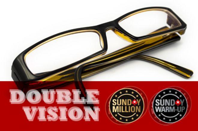 Nem te látsz duplán! A PokerStars Double Vision Sunday tényleg dupla nagy versennyel... 0001