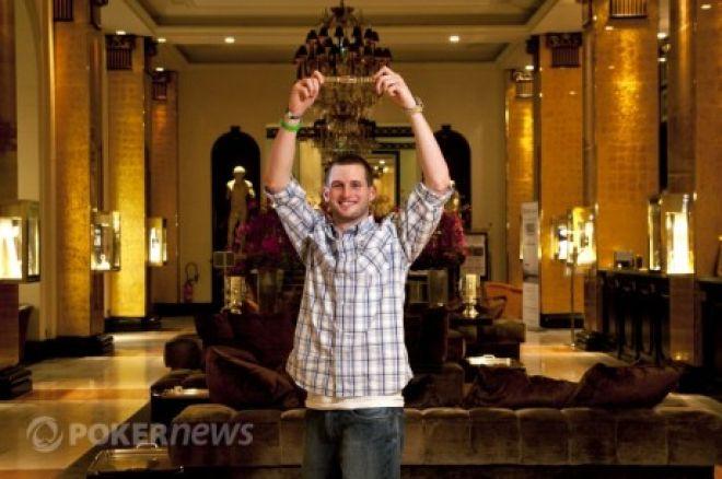 2011 WSOPE øvelse #4: Tristan Wade vant; øvelse #5 Heads-Up; øvelse #6 Fierro leder 0001