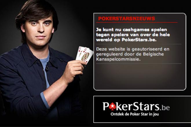 PokerStars.be opent officieel haar deuren