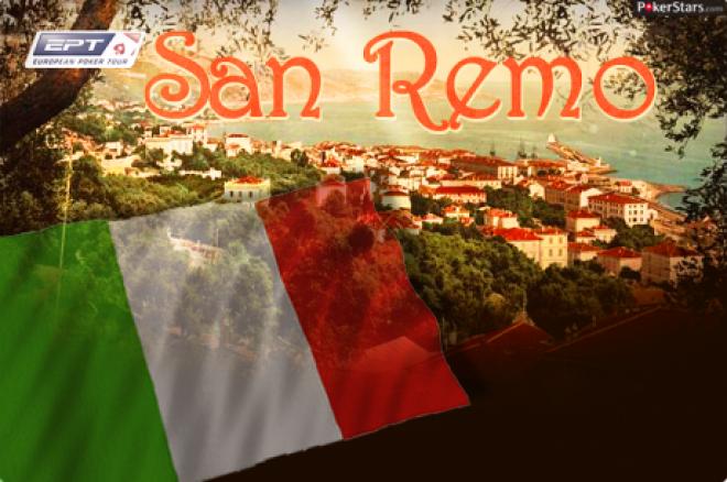 PokerStars.it EPT San Remo vrijdag van start