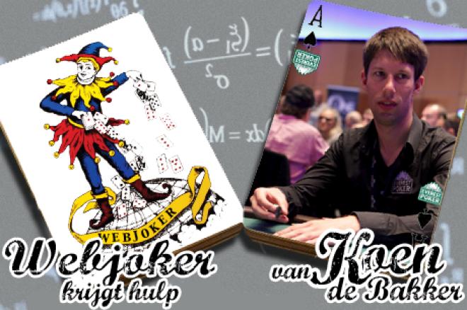 Webjoker krijgt hulp van Koen de Bakker: Jack Link's Wild Card Hand