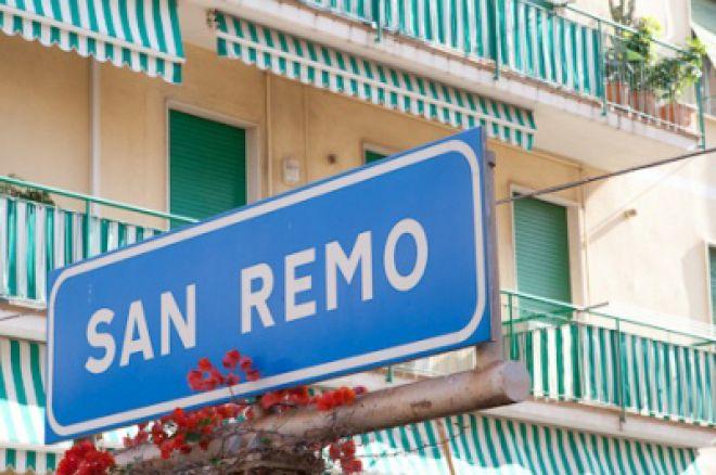 EPT San Remo, Den 1a: Ve vedení je italské duo 0001