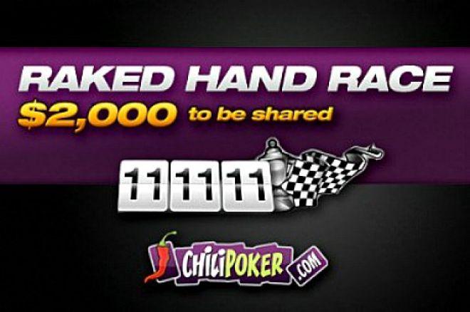 Rake Race Exclusiva Chilipoker - Ganha $2K de graça 0001