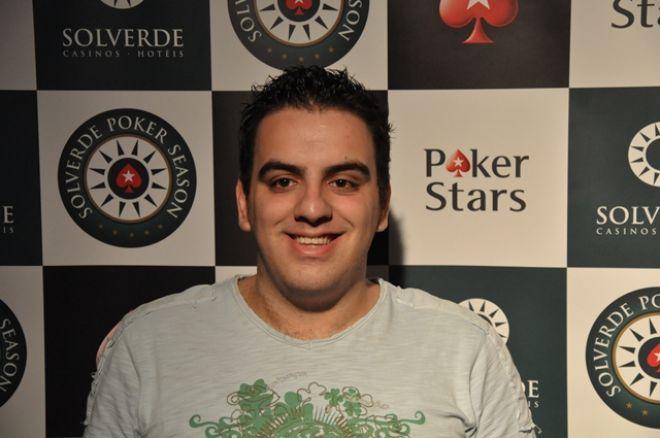Solverde Season Chaves - O chipleader de hoje é Fábio Playmaker Martins 0001