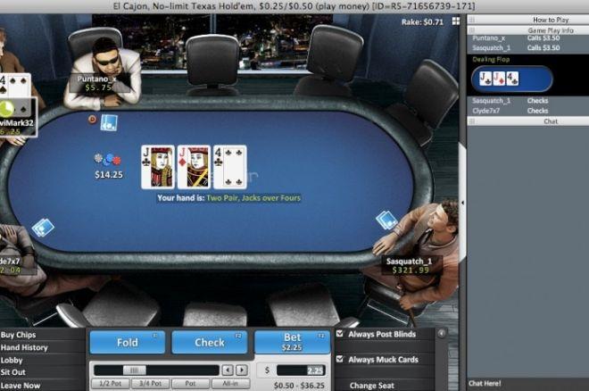 $60,000 Natural Born Grinders промоция в Betfair Poker 0001