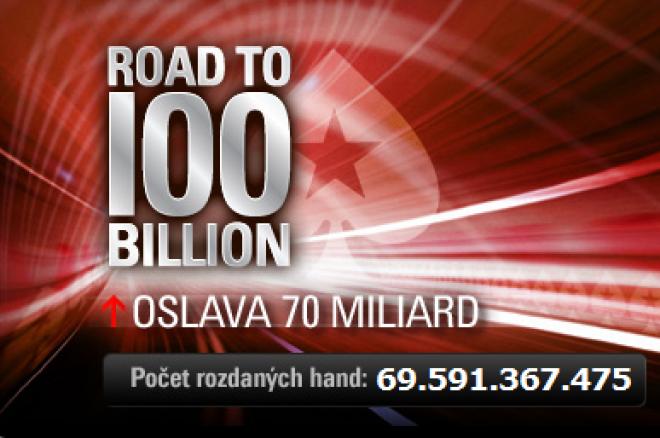 Cesta směr 100 miliard: 70. mld handa se blíží! 0001