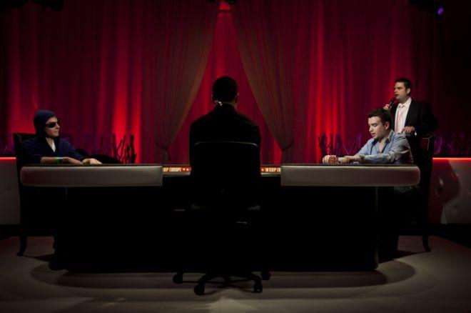WSOPE主赛事,Elio Fox筹码老大进最终桌,冠军离桌 0001