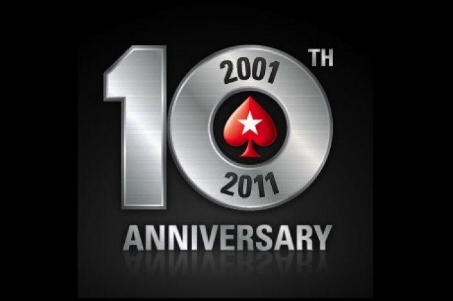 PokerStars feirer 10 år