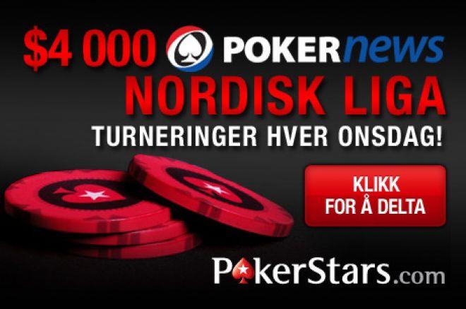 Delta i Nordic Poker Leauge i dag hos PokerStars kl 19.00 CET 0001