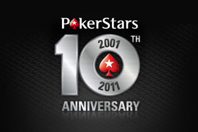 Palīdzi nosvinēt 10. PokerStars gadadienu 0001