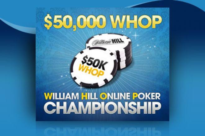 Вже сьогодні перший турнір William Hill Online Poker Championship 0001