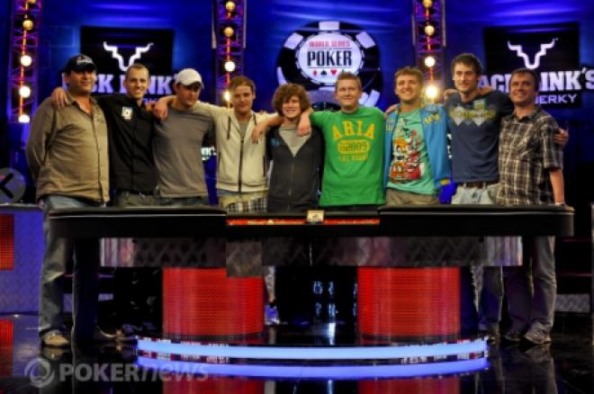 World Series of Poker Main Event - Volg de November Nine live!